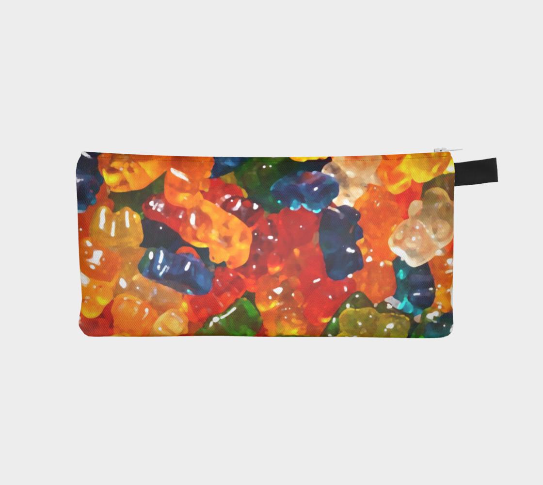 Aperçu de Gummy Bears Pencil Case by Squibble Design #1