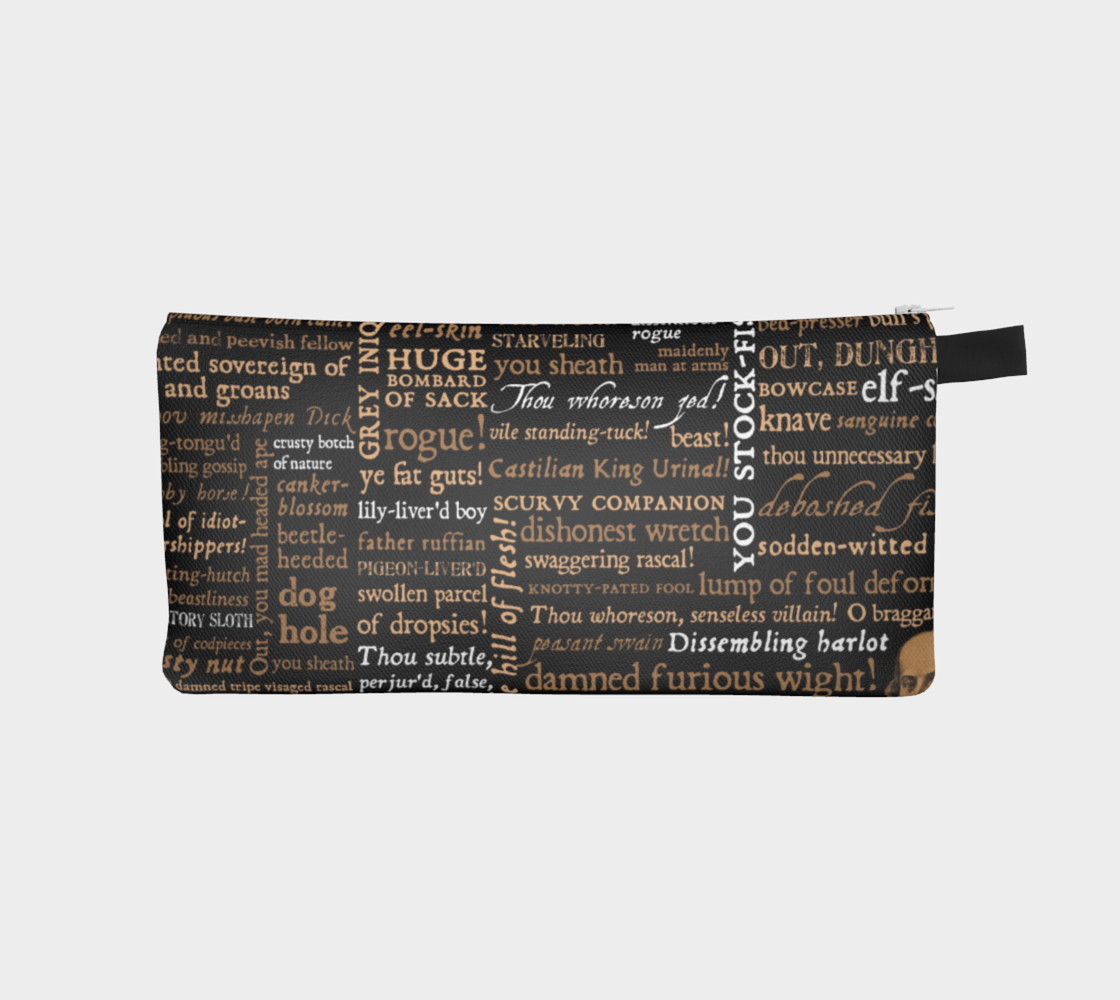 Shakespeare Insults Collection Pencil Case preview #1