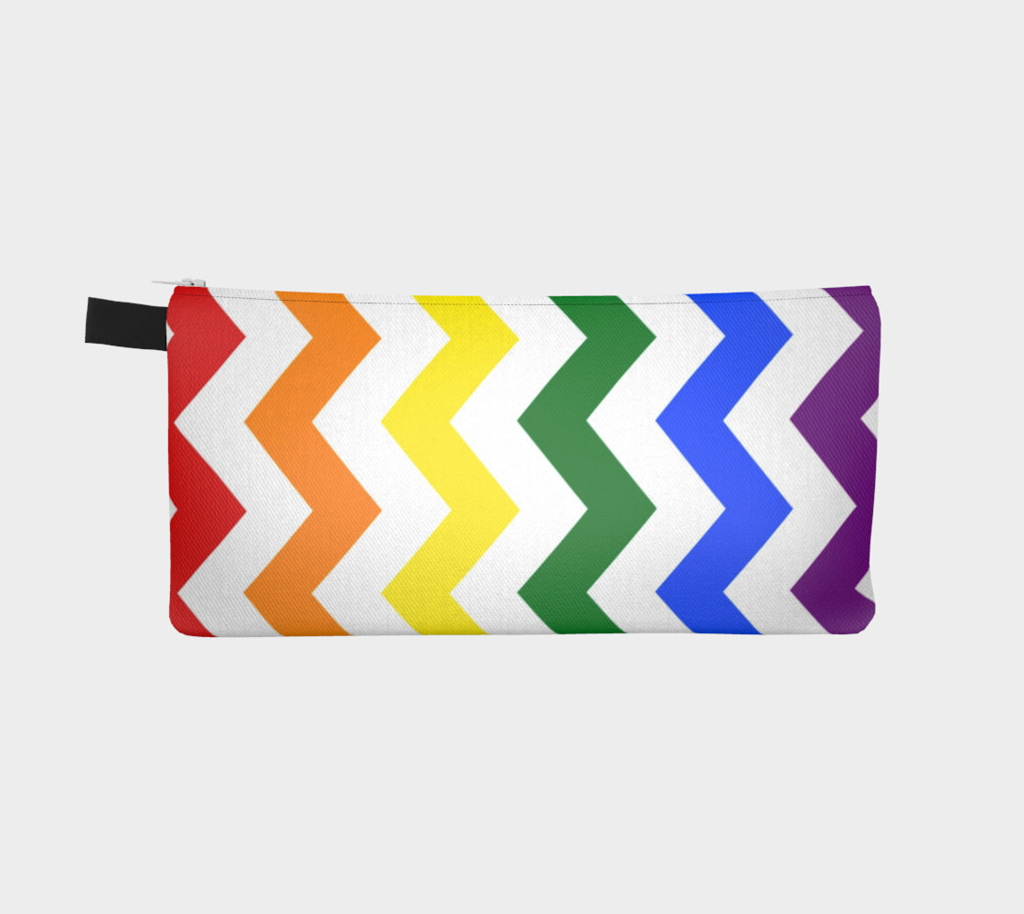 Rainbow Chevron Pattern Design Rainbow Colors Chevron Simple preview #2