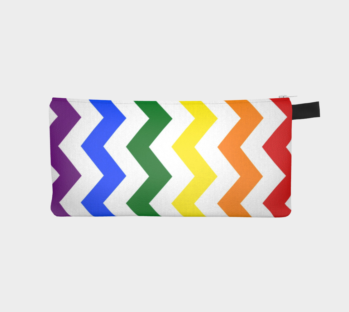 Rainbow Chevron Pattern Design Rainbow Colors Chevron Simple preview #1