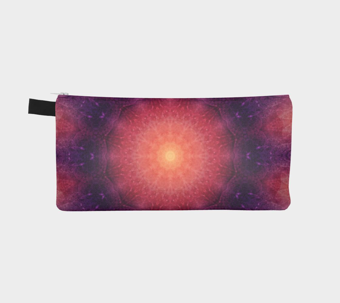 Mandala Sun pencil case preview #2