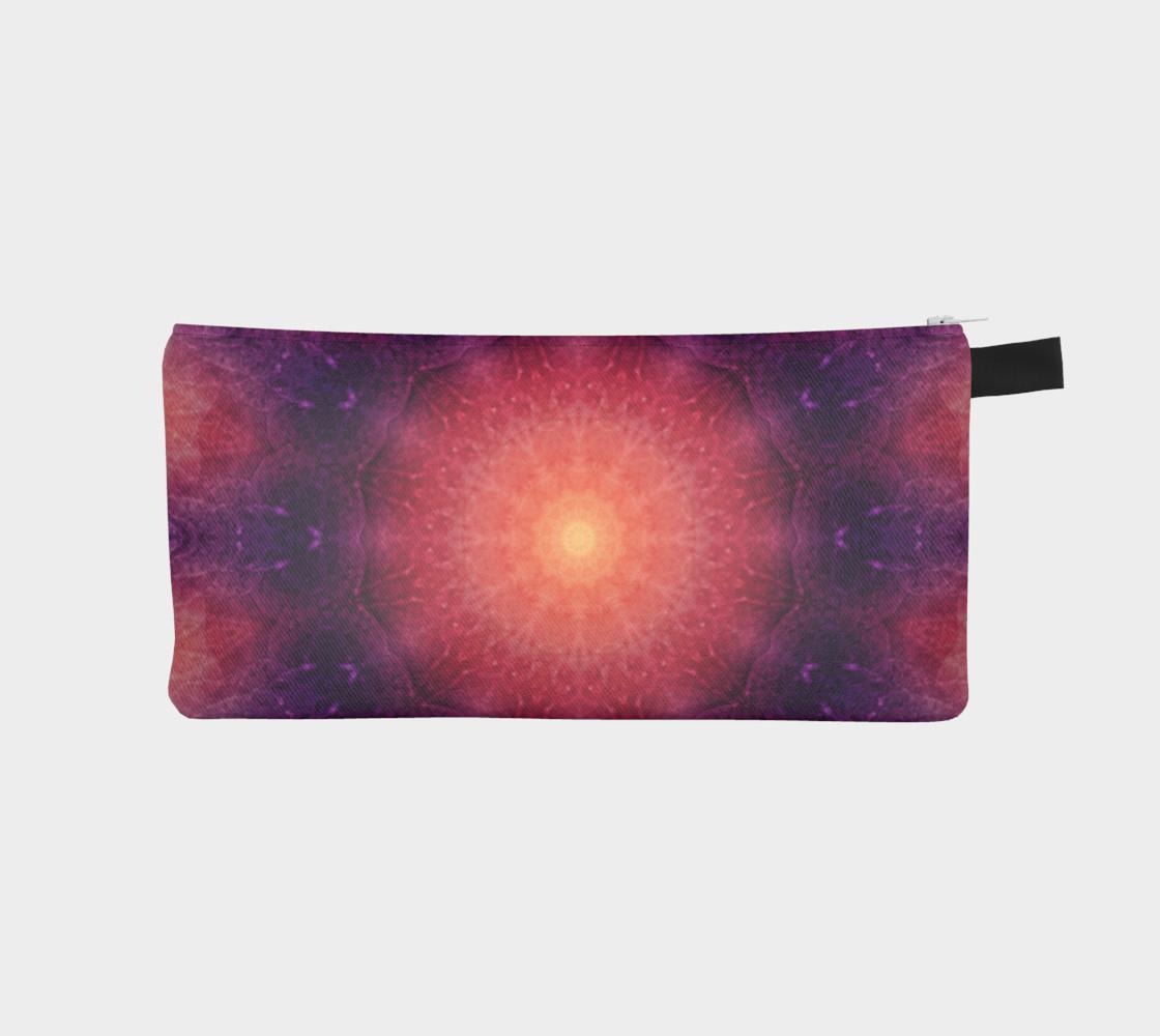 Mandala Sun pencil case preview #1