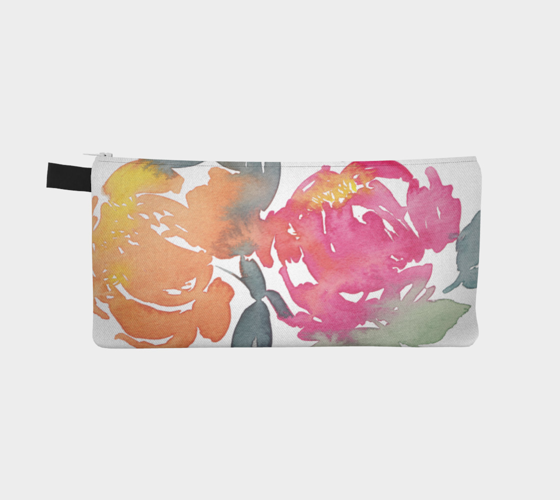 Peony Watercolor preview #2