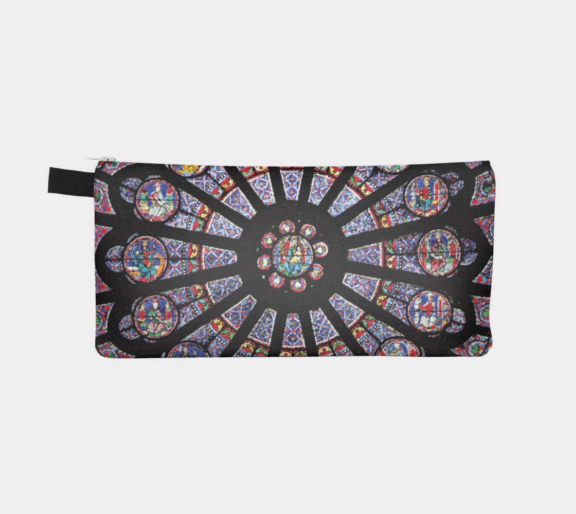Rose South Window, Notre Dame Paris Pencil Case preview #2