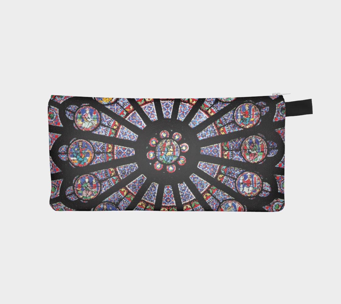 Rose South Window, Notre Dame Paris Pencil Case preview #1