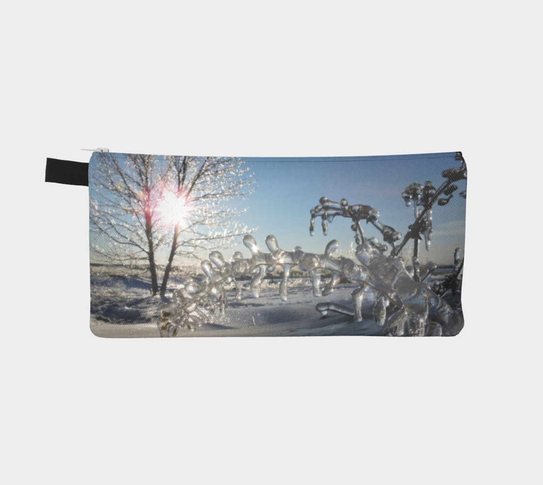 Icy Morning Pencil Case preview #2