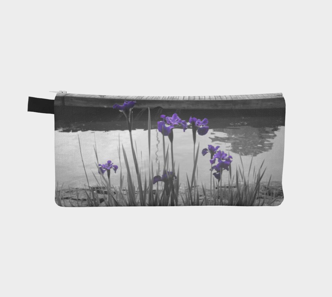 Admiring Irises Pencil Case preview #2
