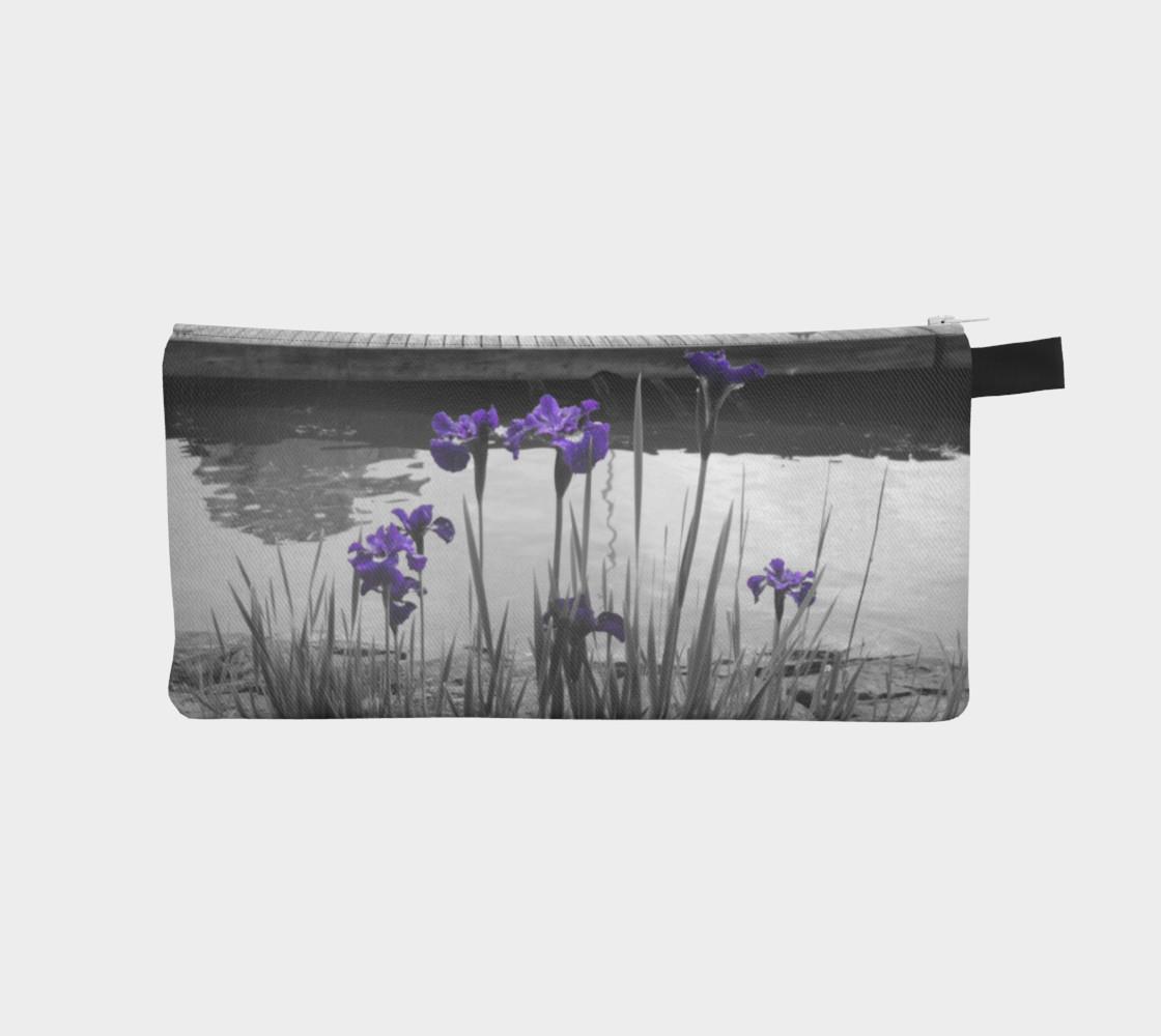 Admiring Irises Pencil Case preview #1
