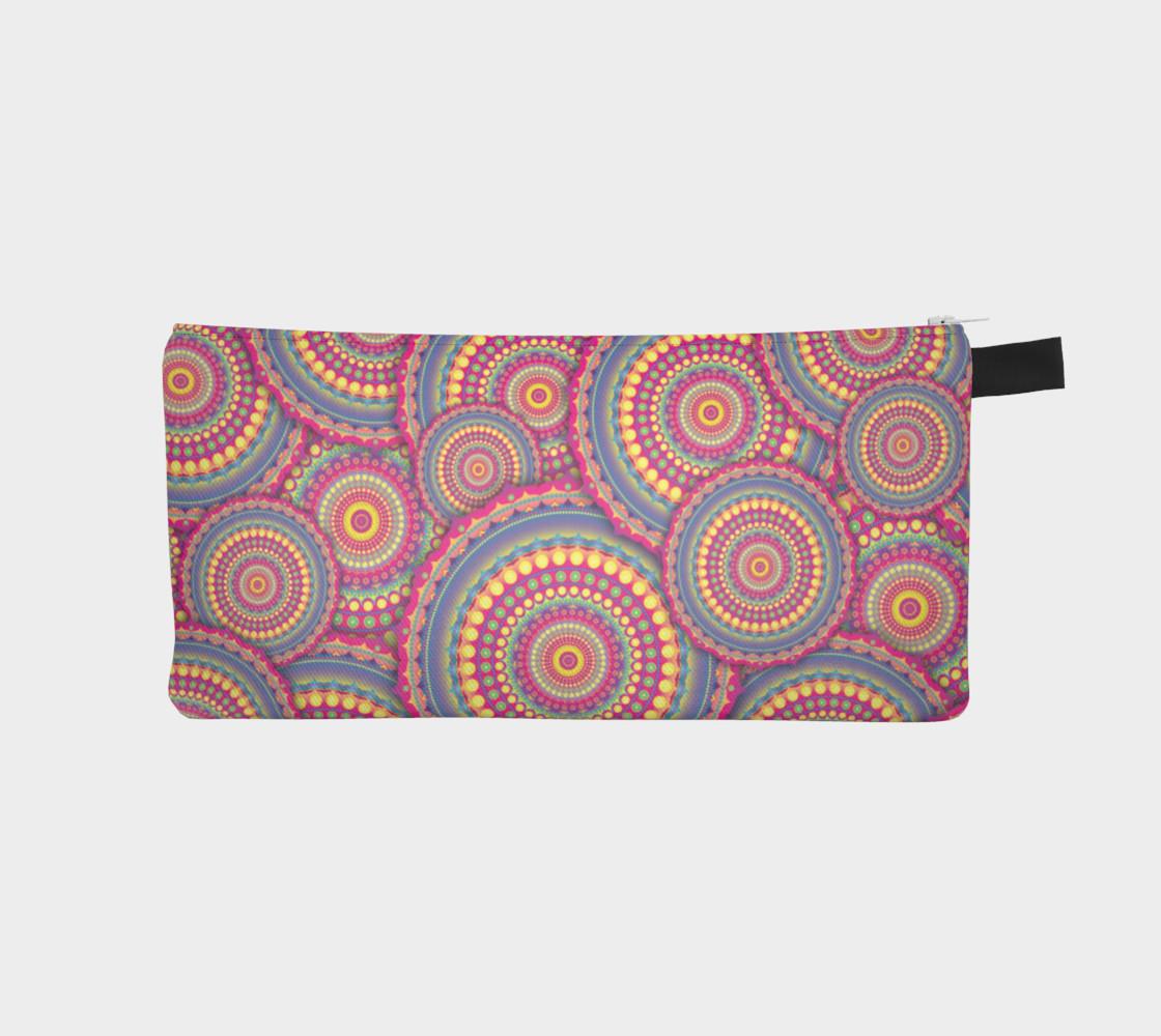 Aperçu de Pink Mandala Hippie Pattern #1