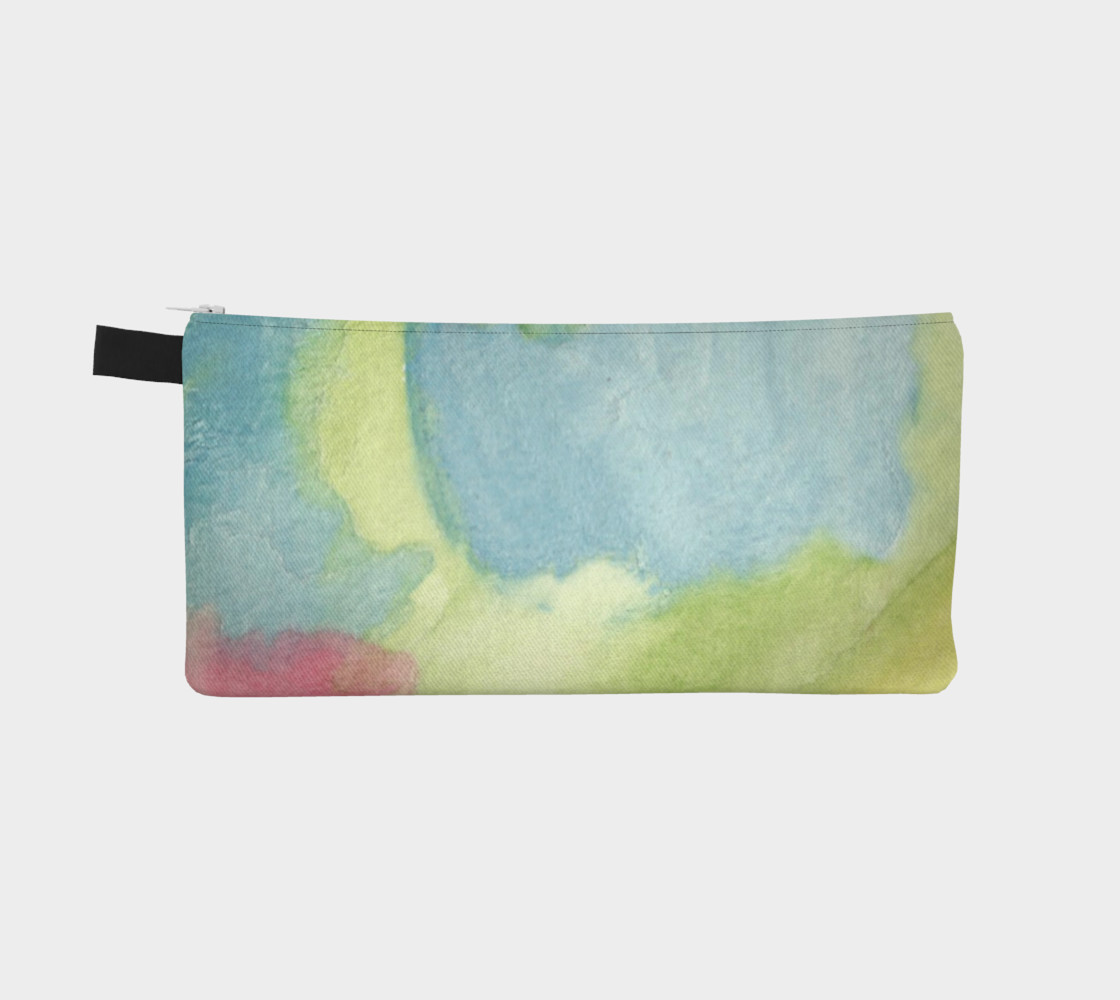 Flowers in Stained Glass Pencil Case preview #2
