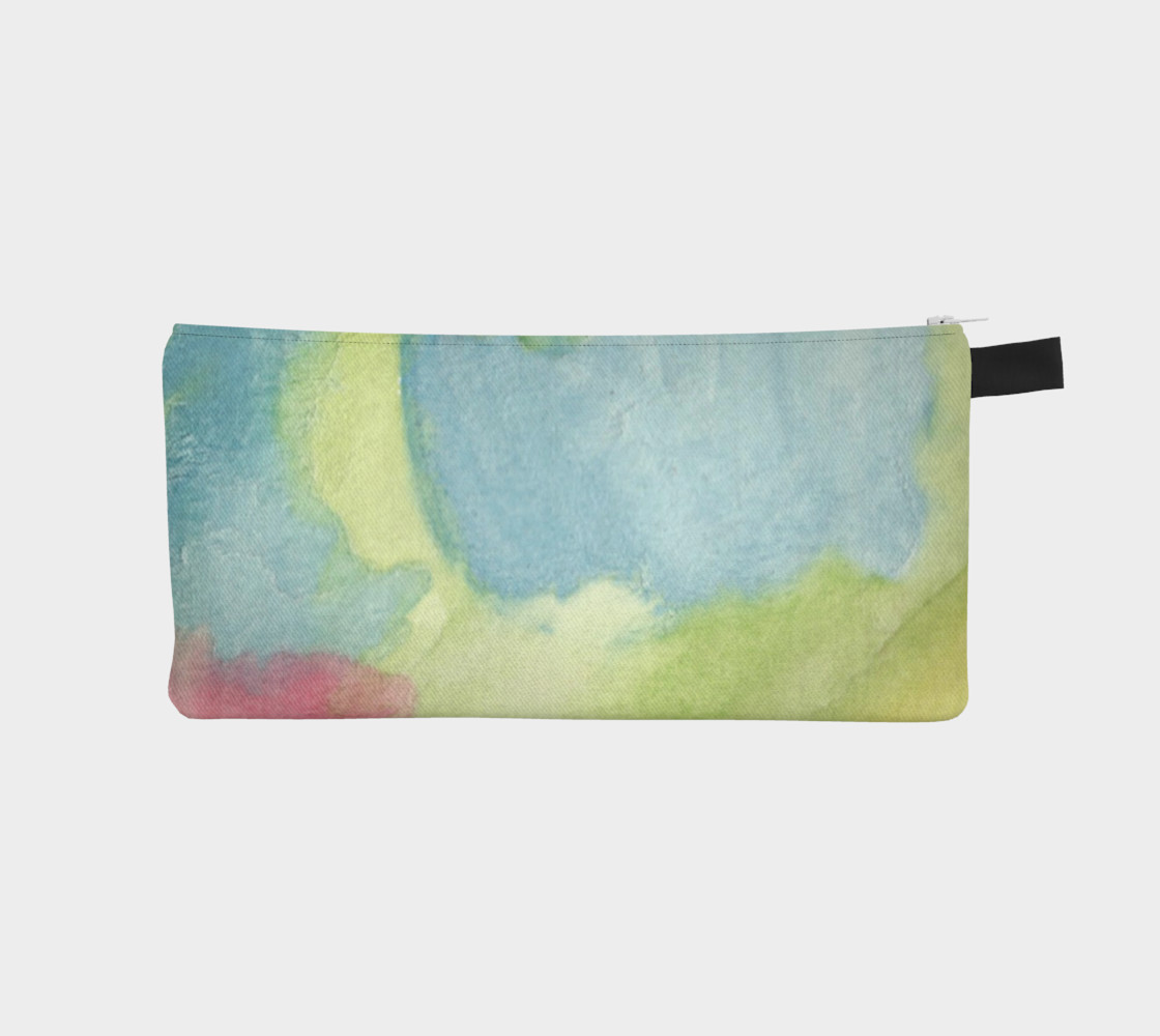 Flowers in Stained Glass Pencil Case preview #1