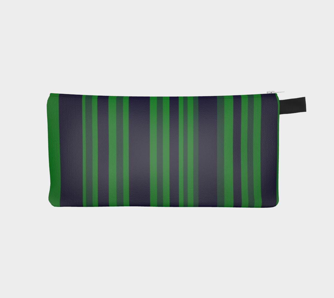 Aperçu de Classic Green Blue Stripes #1