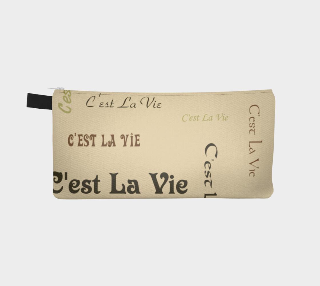 Aperçu de Coffee C'est la Vie Pencil Case #2