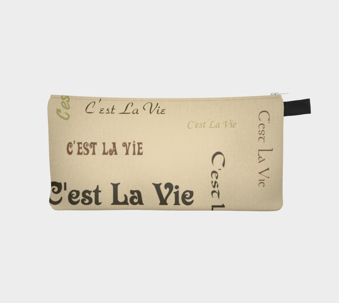 Aperçu de Coffee C'est la Vie Pencil Case #1