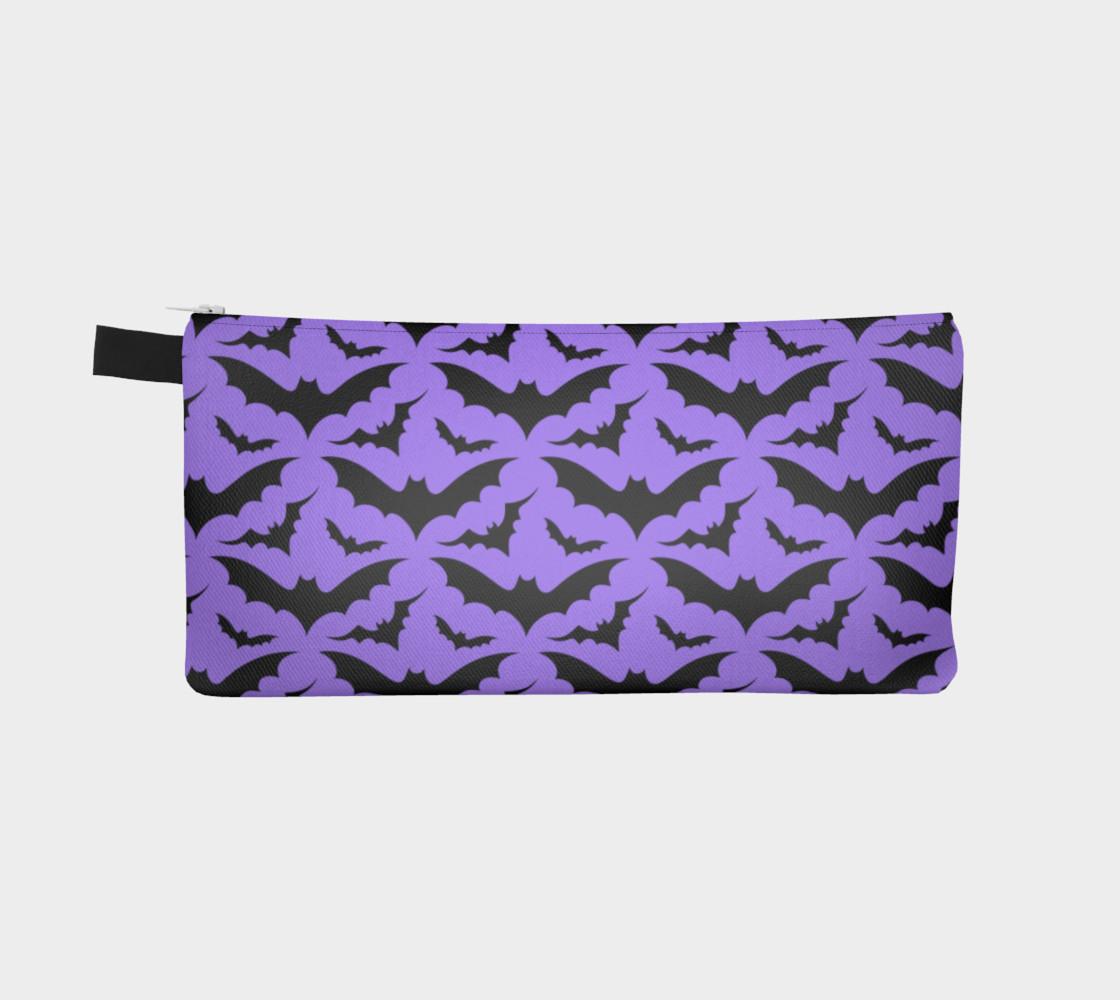Purple Bats Pencil Case preview #2