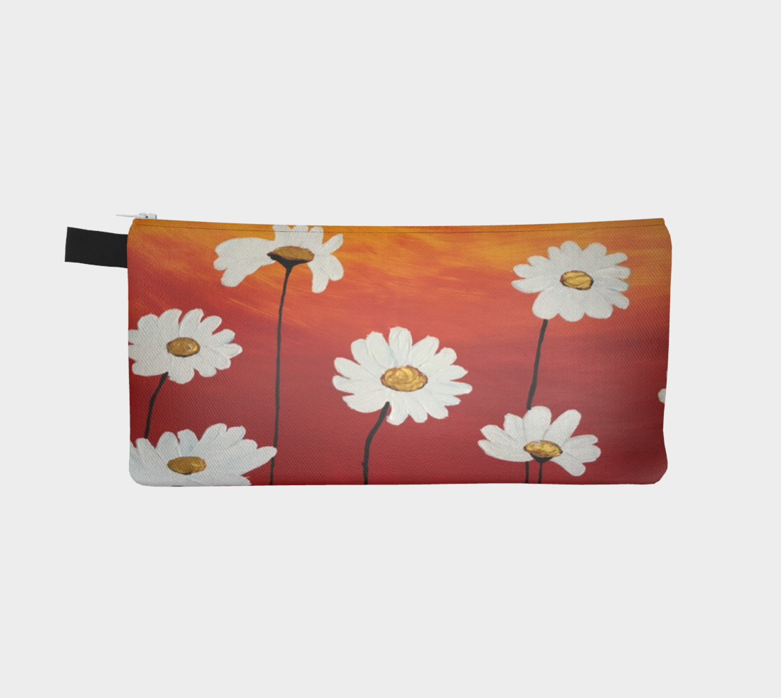 Daisy Sunset Pencil Case preview #2