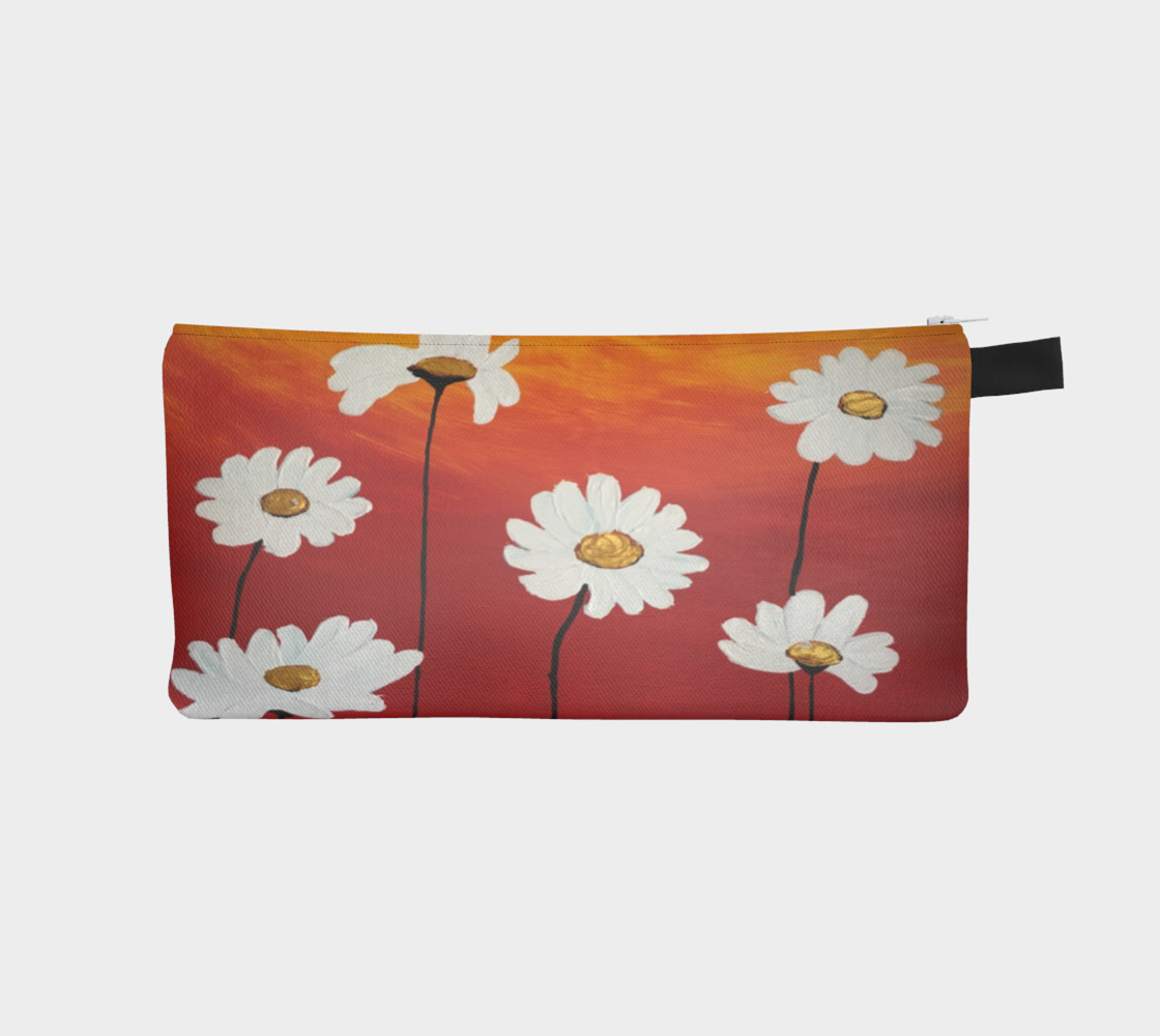 Daisy Sunset Pencil Case preview #1