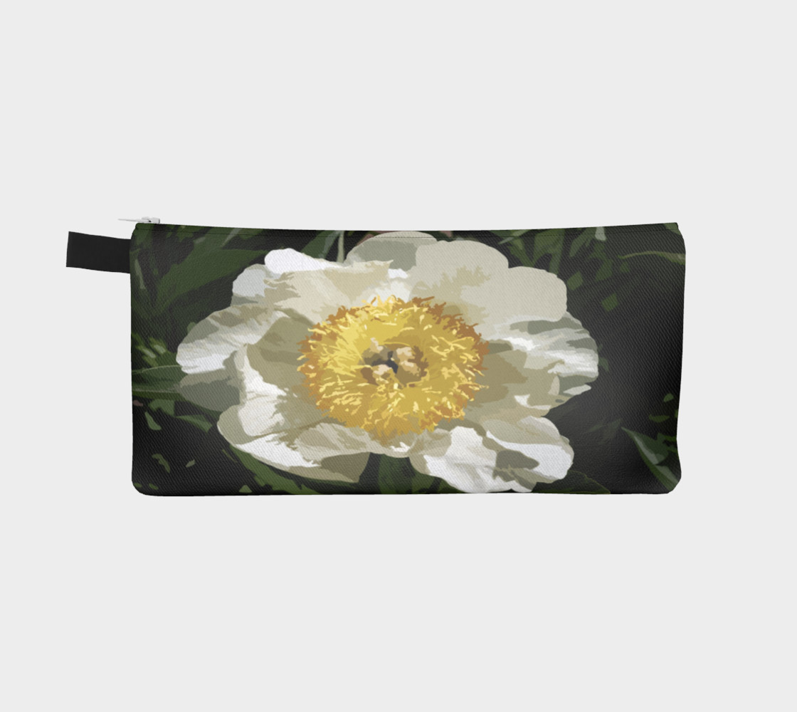 Nobel Yellow Peony Pencil Case preview #2