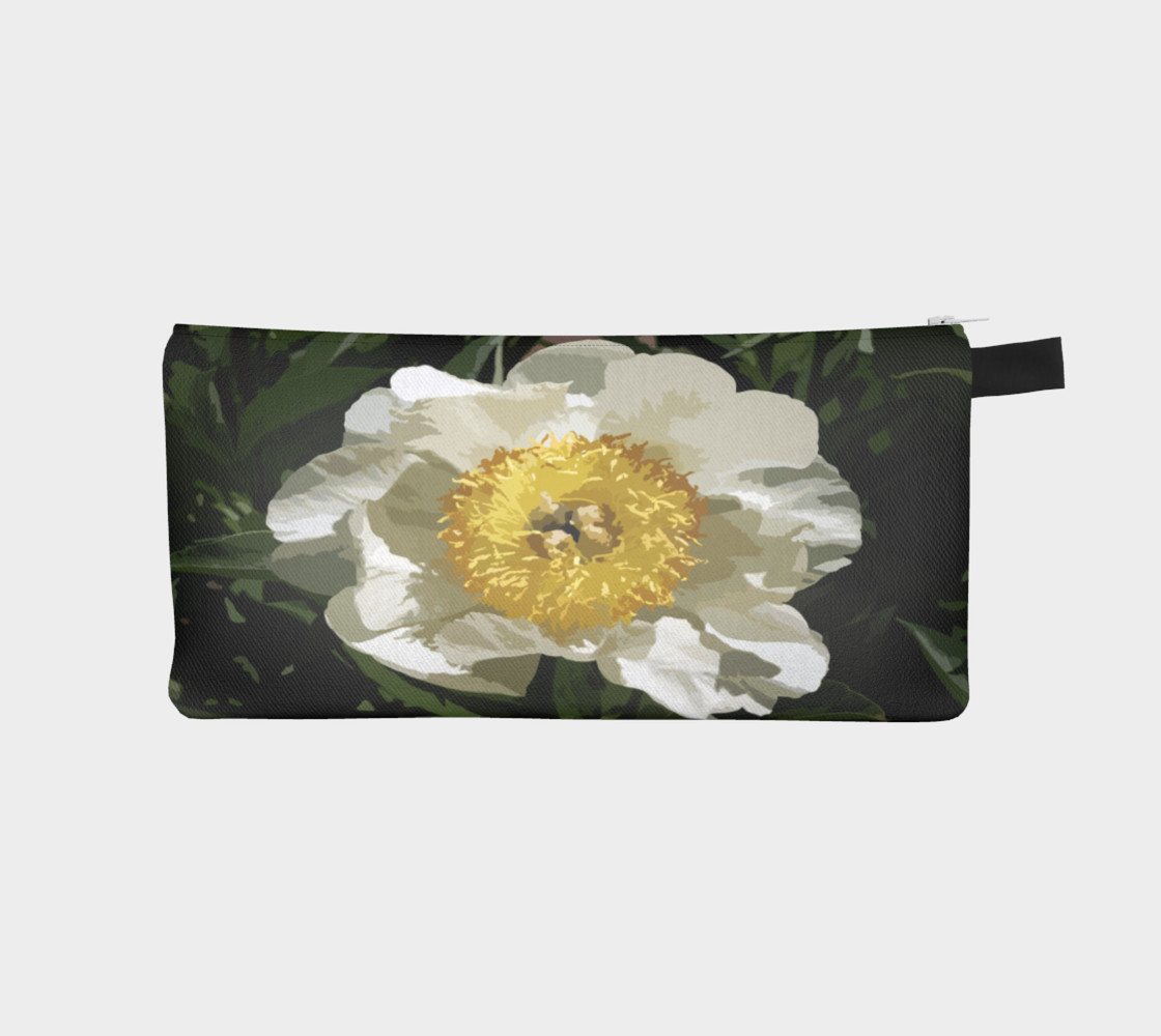 Nobel Yellow Peony Pencil Case preview #1