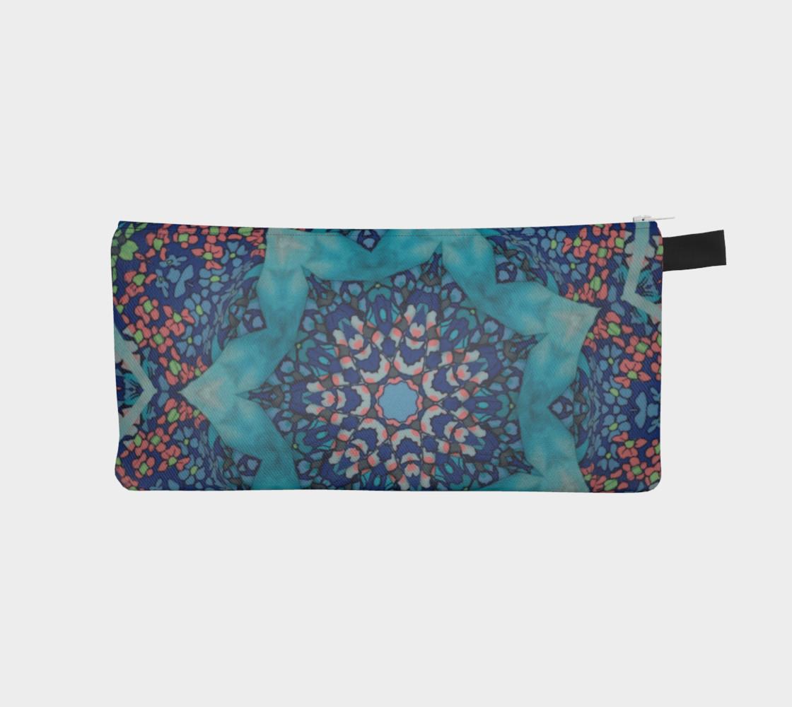 Kaleidoscope #1030 zipper pouch preview #1
