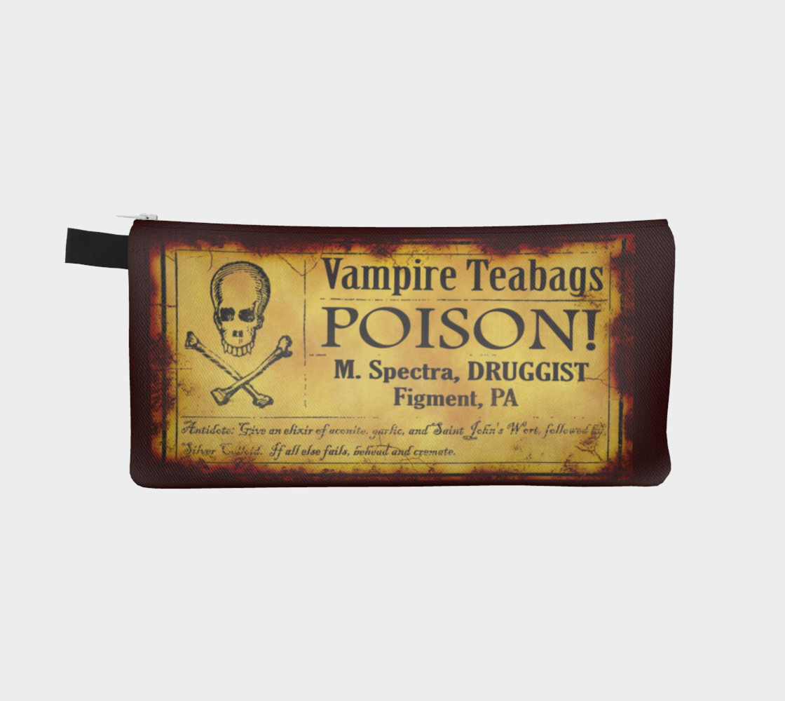 Vampire Teabags Toiletry Bag preview #2
