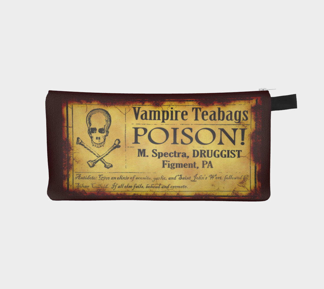Vampire Teabags Toiletry Bag preview #1