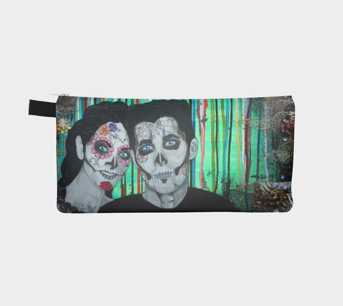 Dia de los Muertos Zippered Pouch preview #2