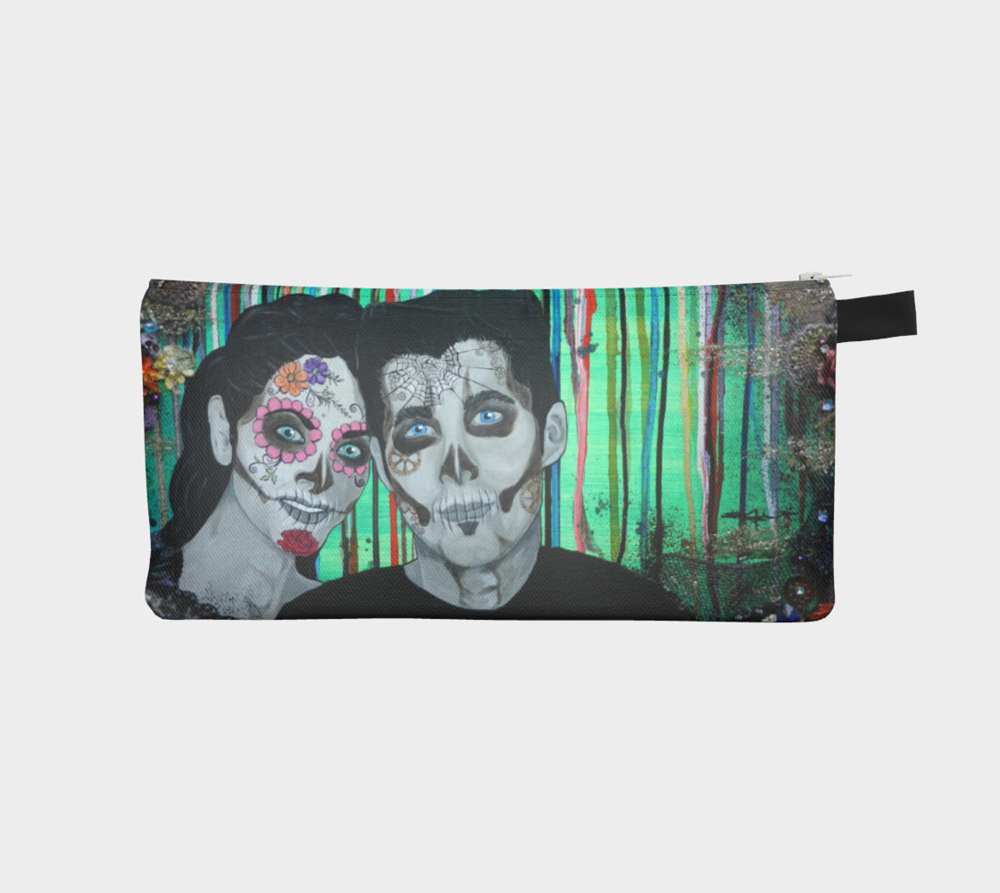 Dia de los Muertos Zippered Pouch preview #1