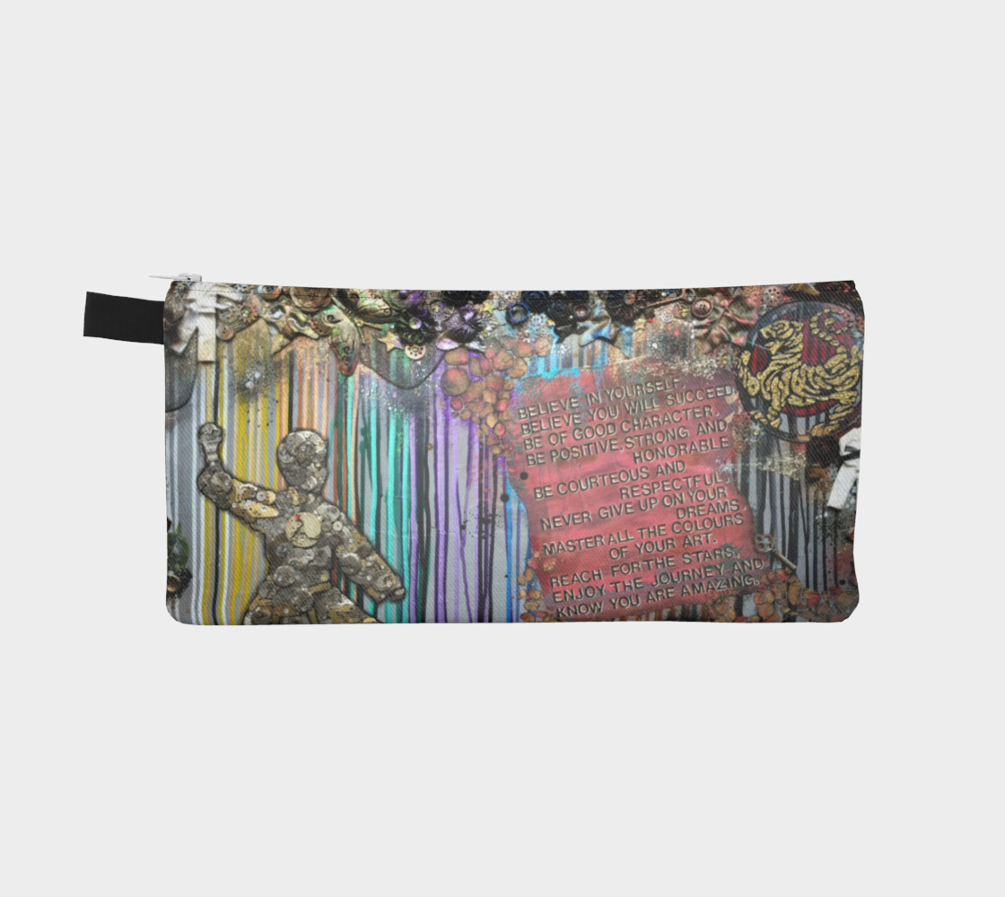 Colours of Your Art Zippered Pouch preview #2