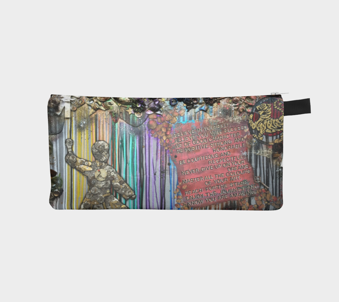 Colours of Your Art Zippered Pouch preview #1