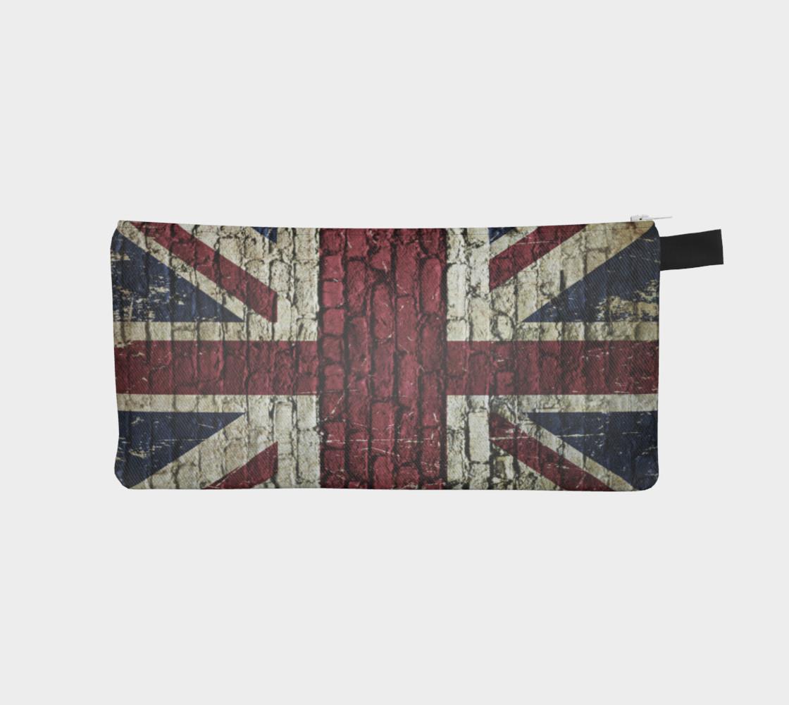 Aperçu de Union Jack-British Flag on brick #1
