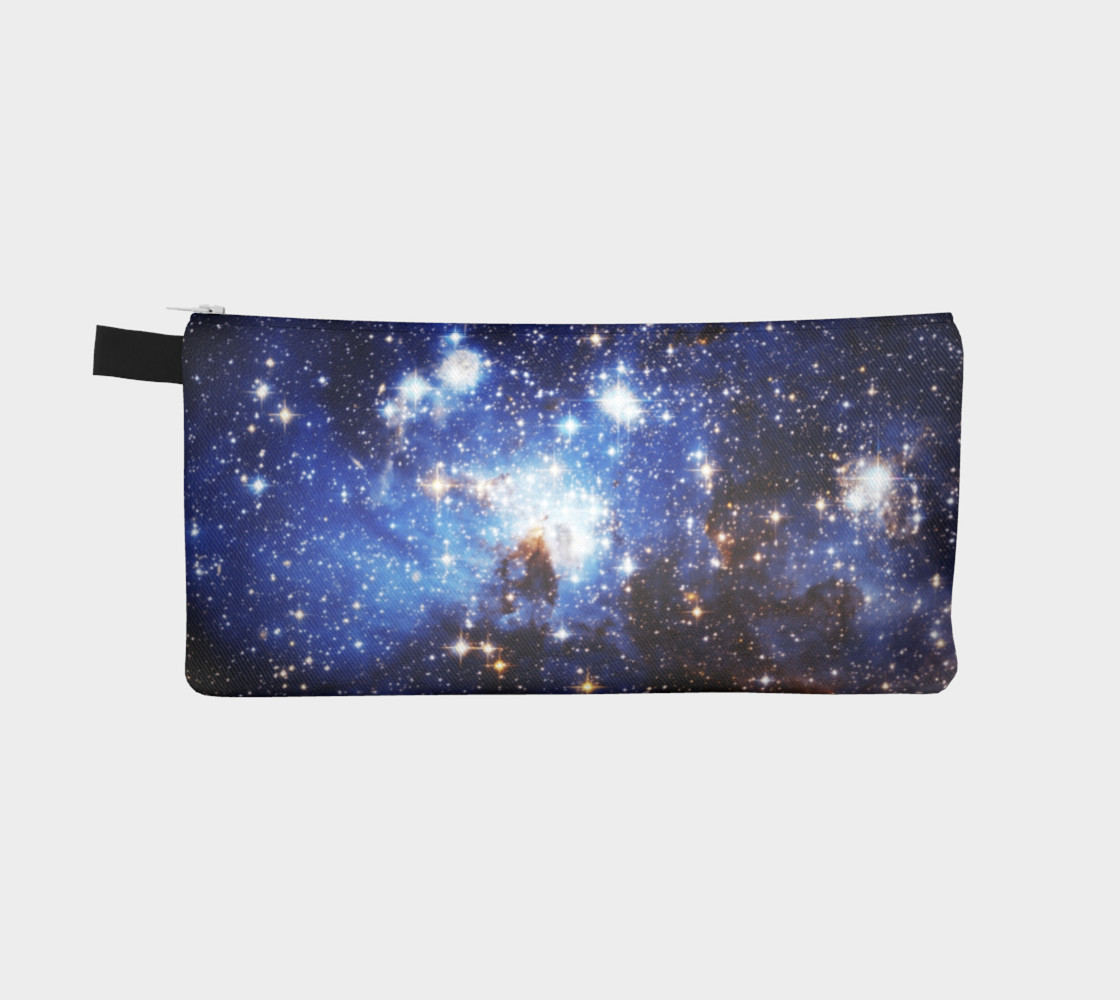 Aperçu de Blue Galaxy(Pencil Case) #2