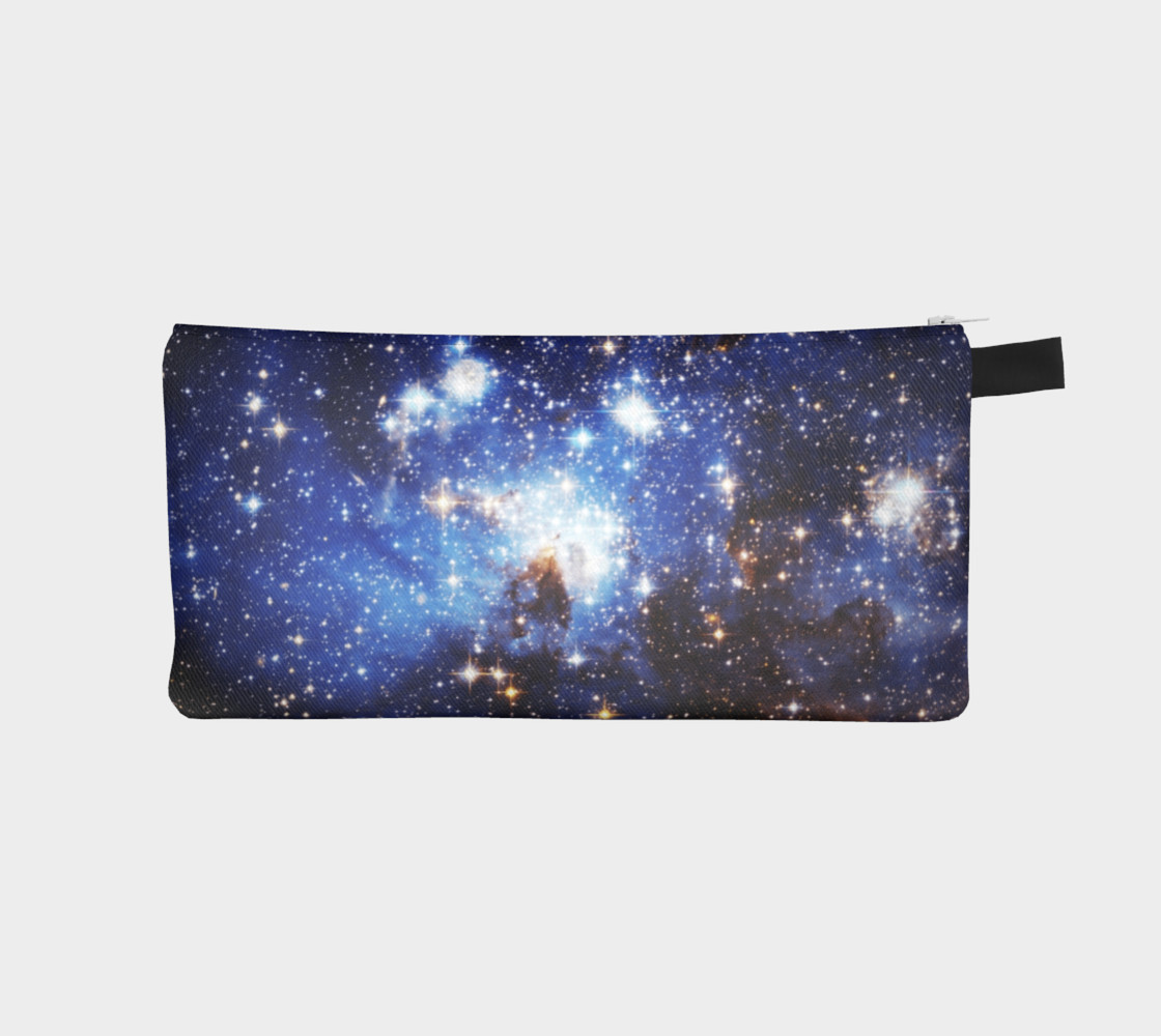 Aperçu de Blue Galaxy(Pencil Case) #1