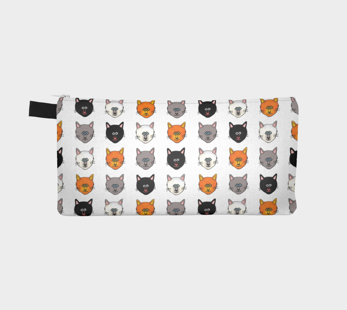 Cat lovers pencil case preview #2