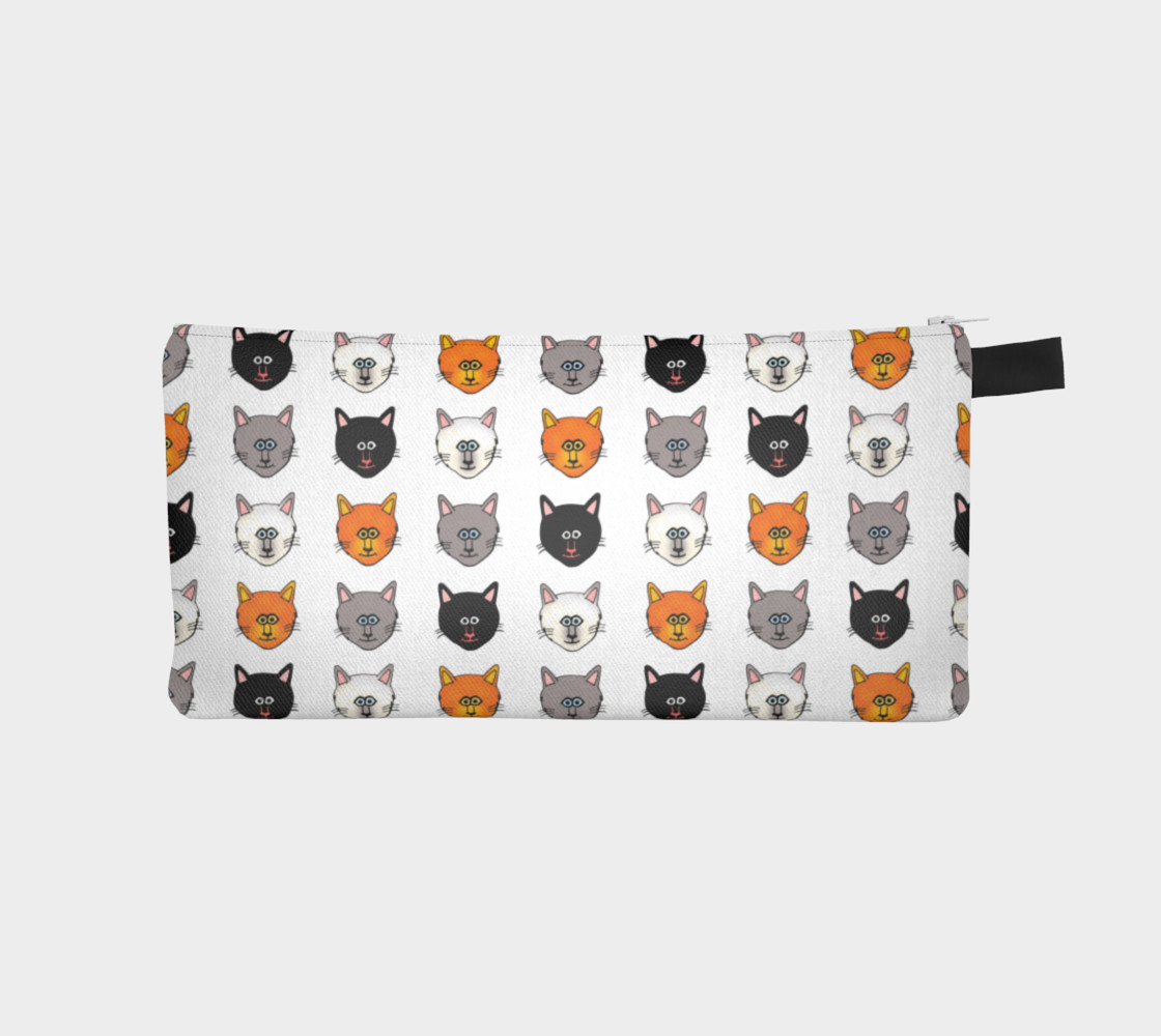 Cat lovers pencil case preview #1