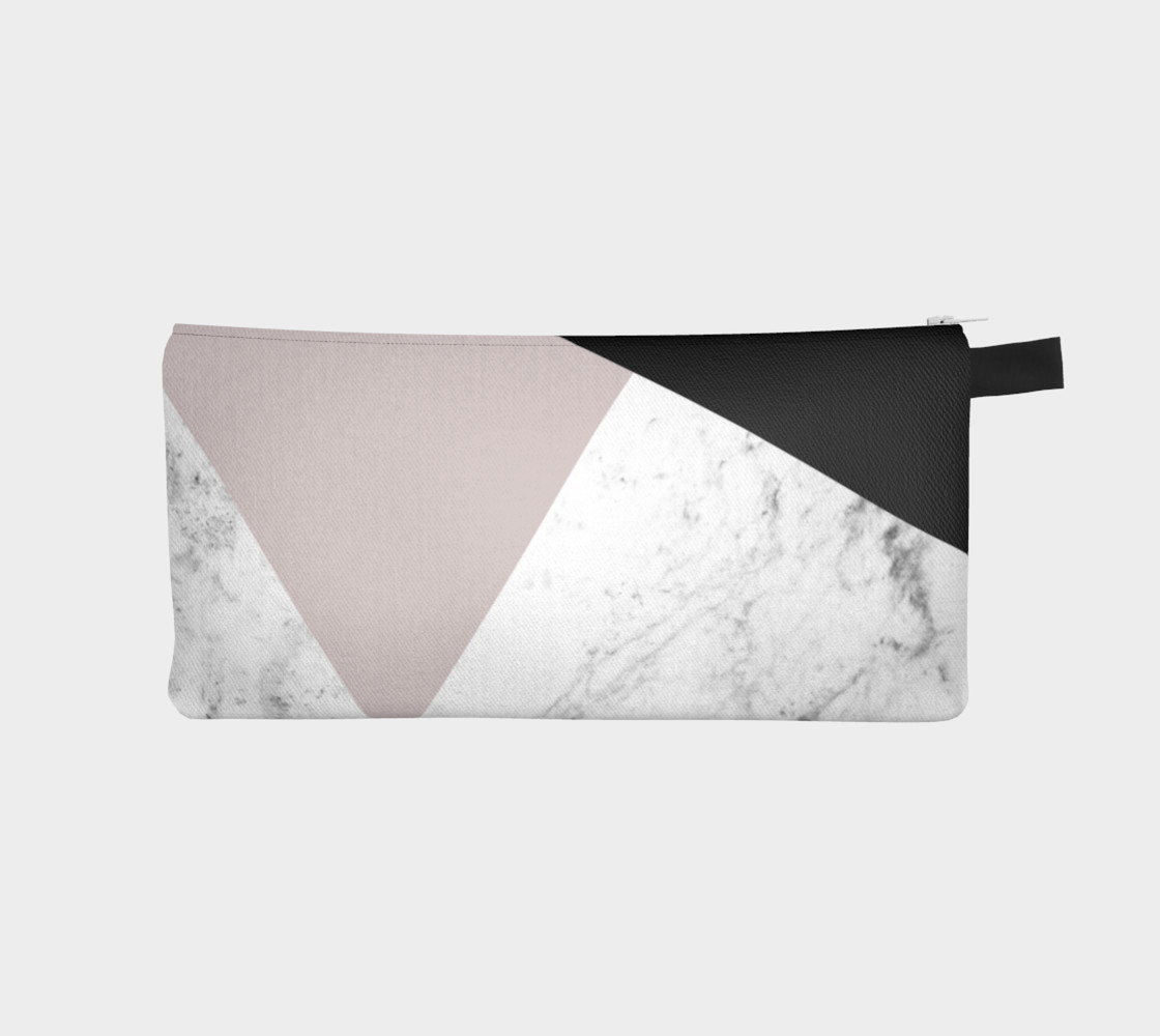 Pink and black with marble 3D preview