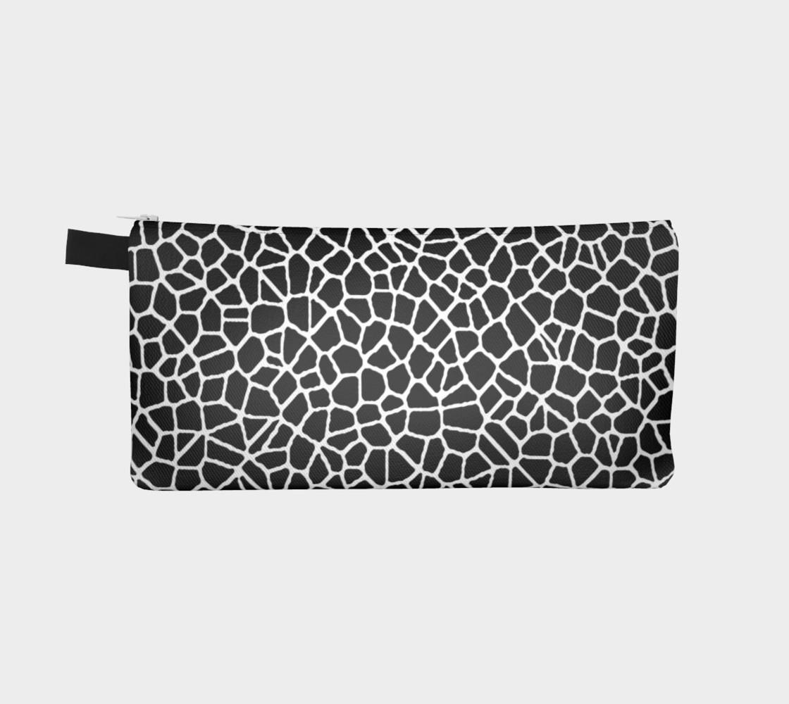 staklo (black/white) pencil case preview #2