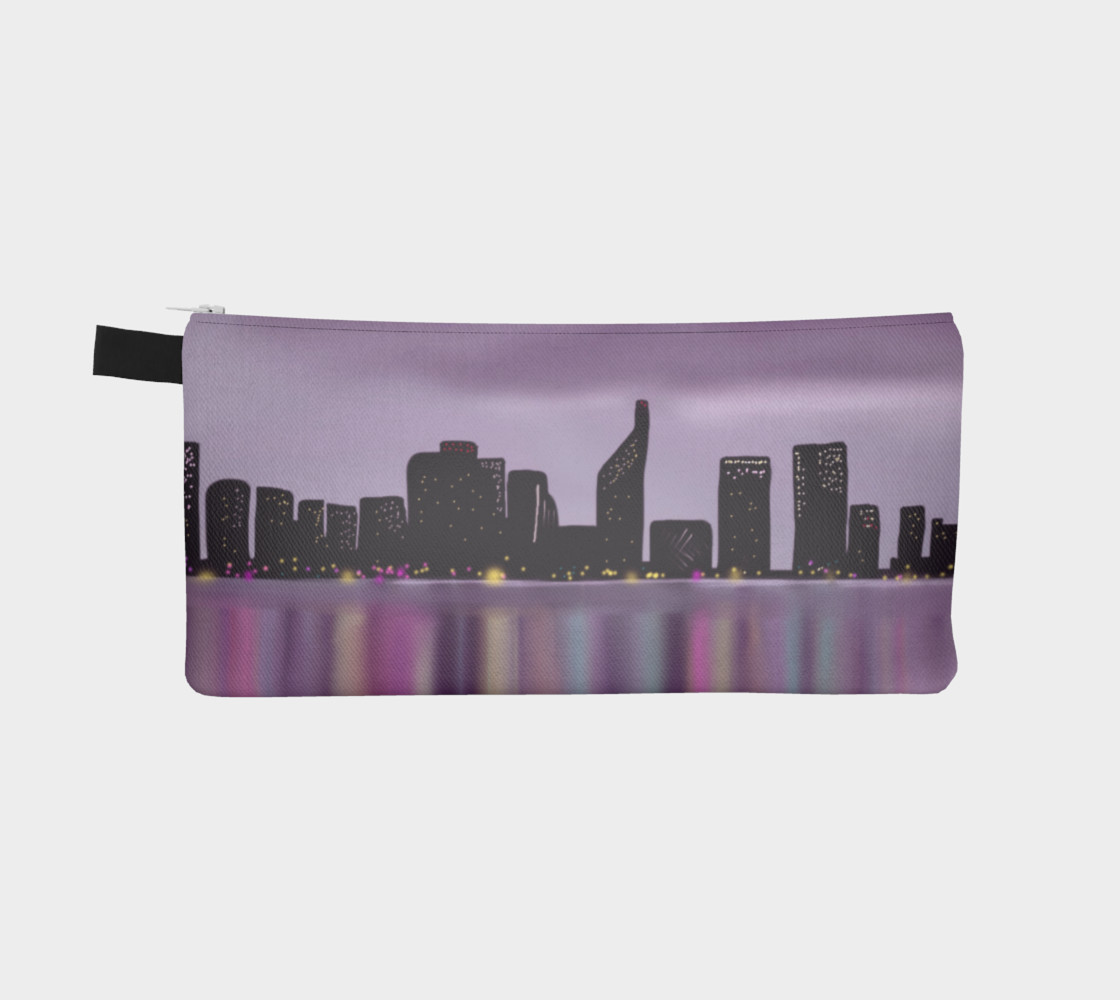 Morning Skyline Pencil Case preview #2