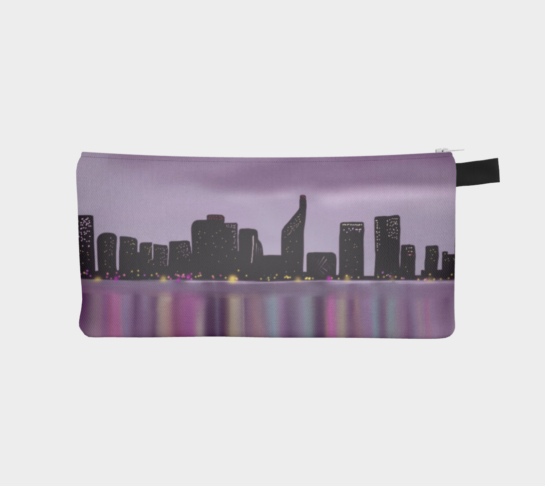 Morning Skyline Pencil Case preview #1