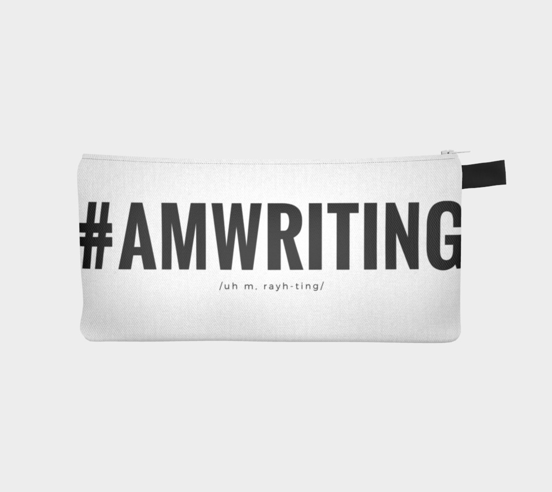 Aperçu de #AMWRITING Black/White Pencil Case #1