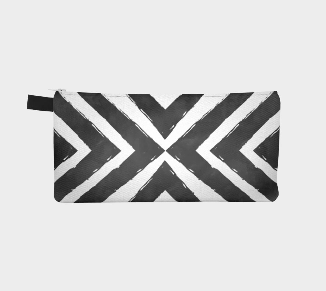 Aperçu de Watercolour Stripes Black #2