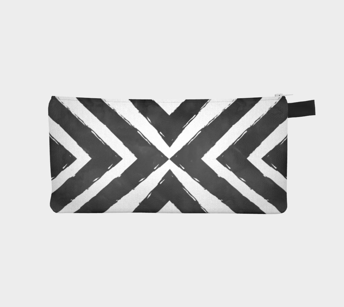Aperçu de Watercolour Stripes Black #1