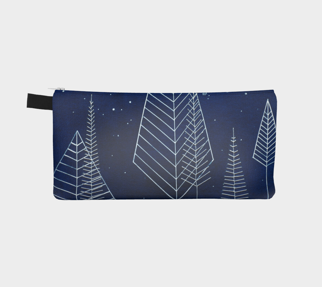 Aperçu de Celestial Trees Pencil Case #2