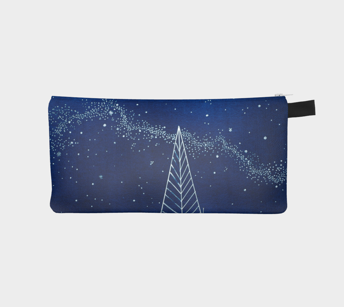Aperçu de Celestial Trees Pencil Case #1