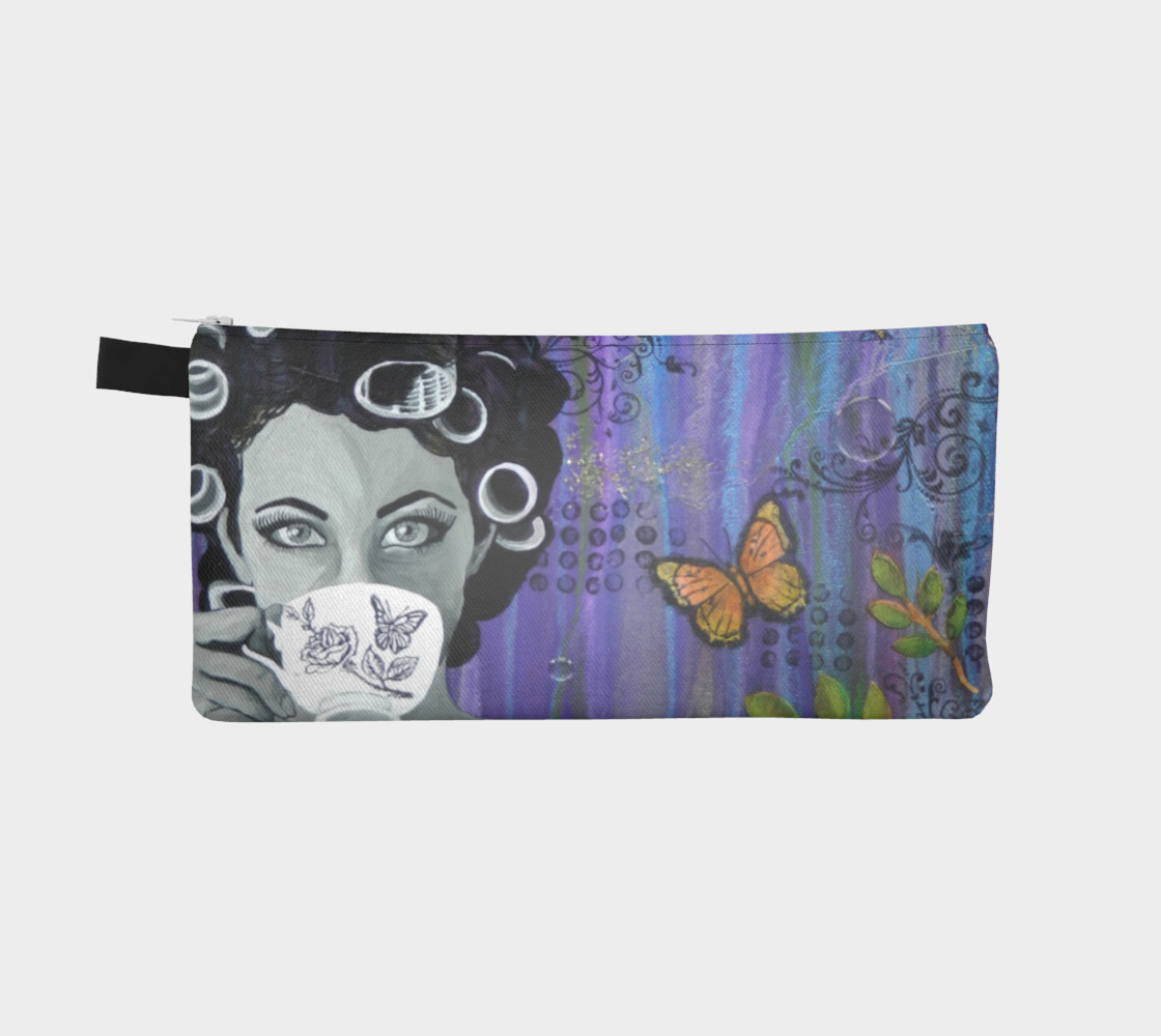 Hair Day Zippered Pouch preview #2