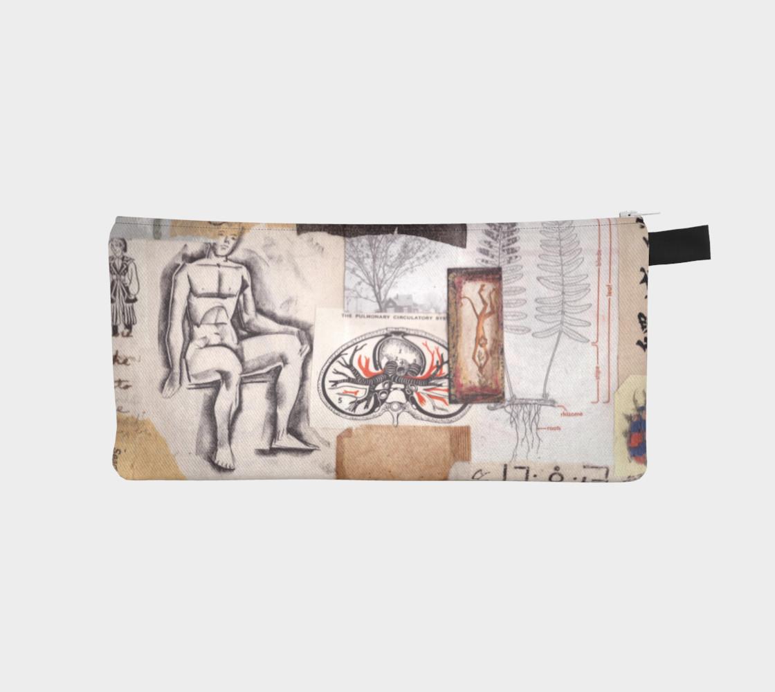 Aperçu de collage pencil pouch #1