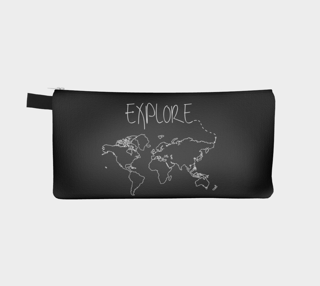 Aperçu de Explore World Map Pencil Case #2