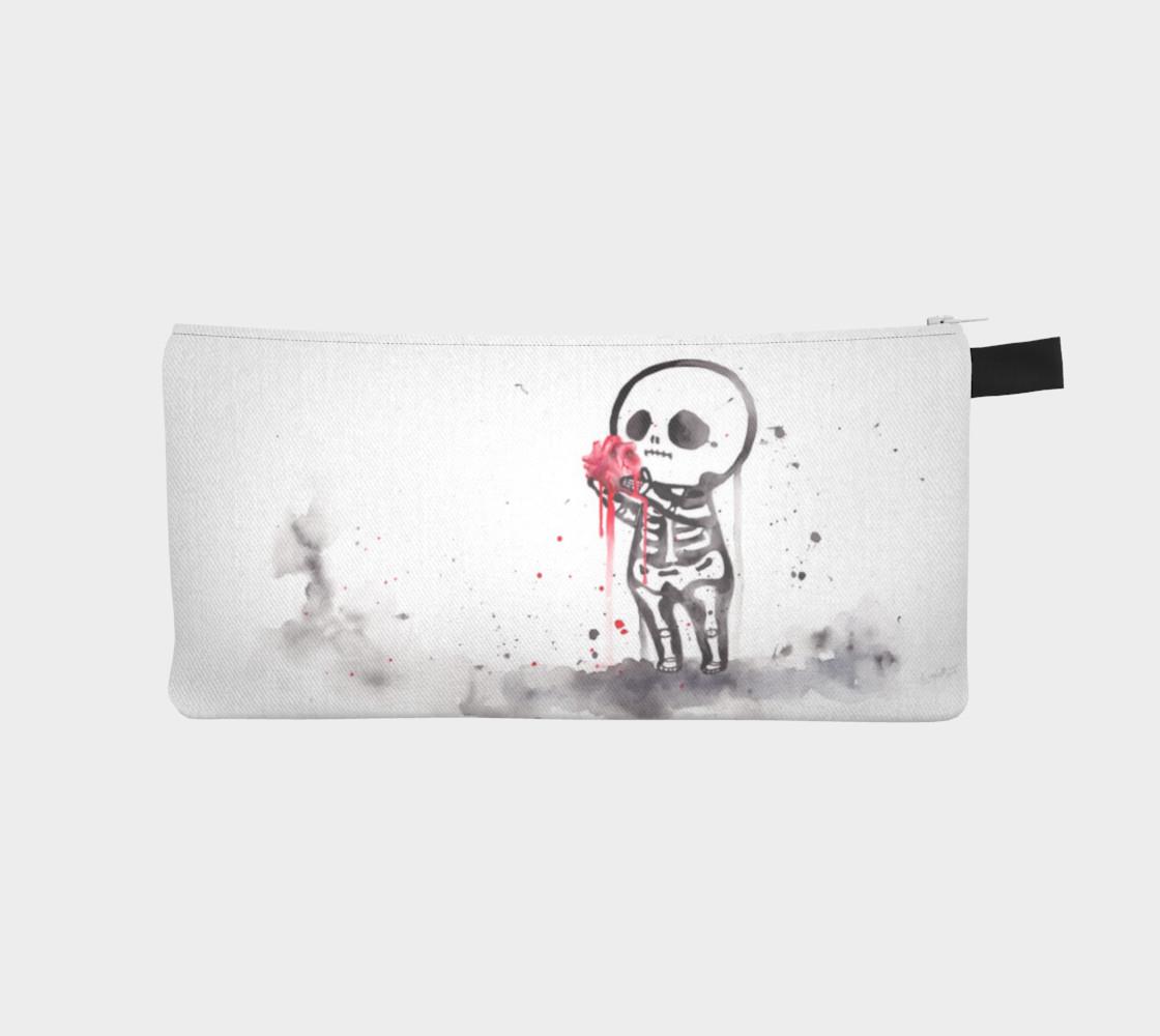 Aperçu de Skeleton love - Pencil case #1
