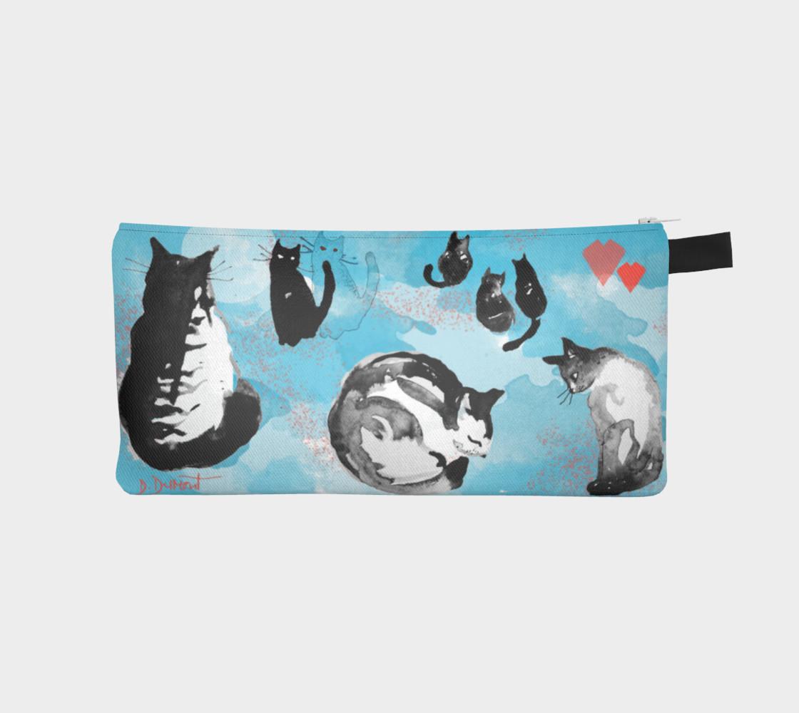 Aperçu de Cat Story pencil case #1