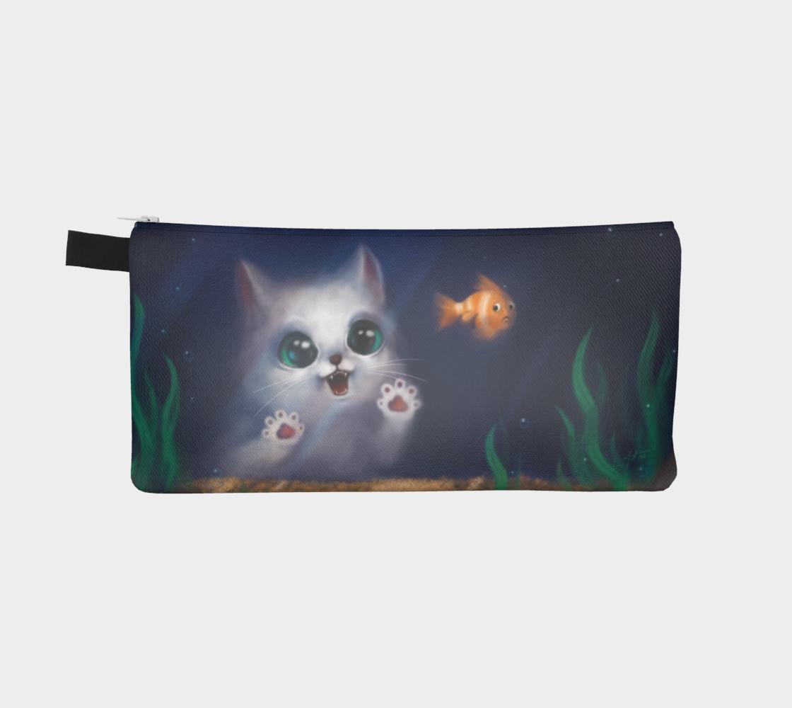 Aperçu de Hungry cat - Pencil case #2